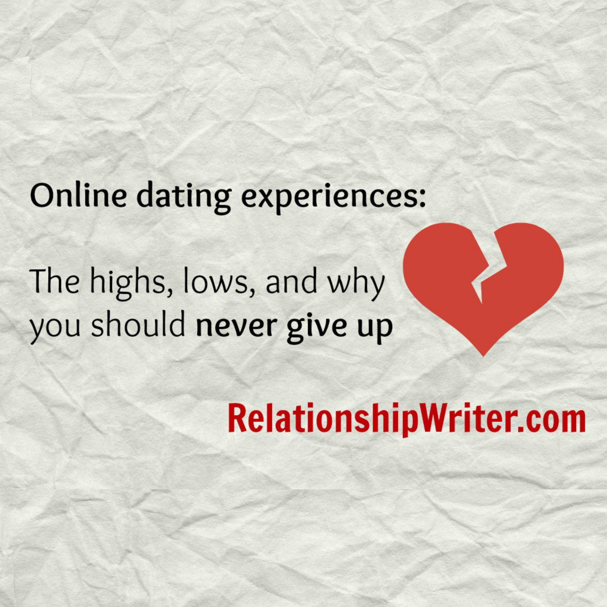 Online dating when to give up
