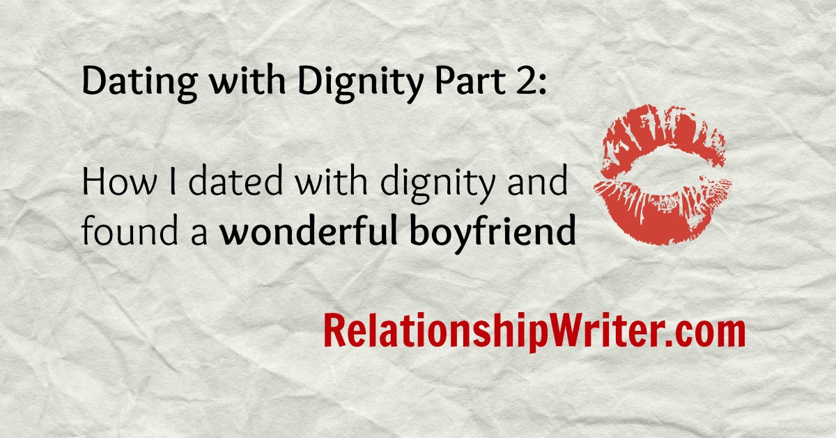 Dating with dignity blog