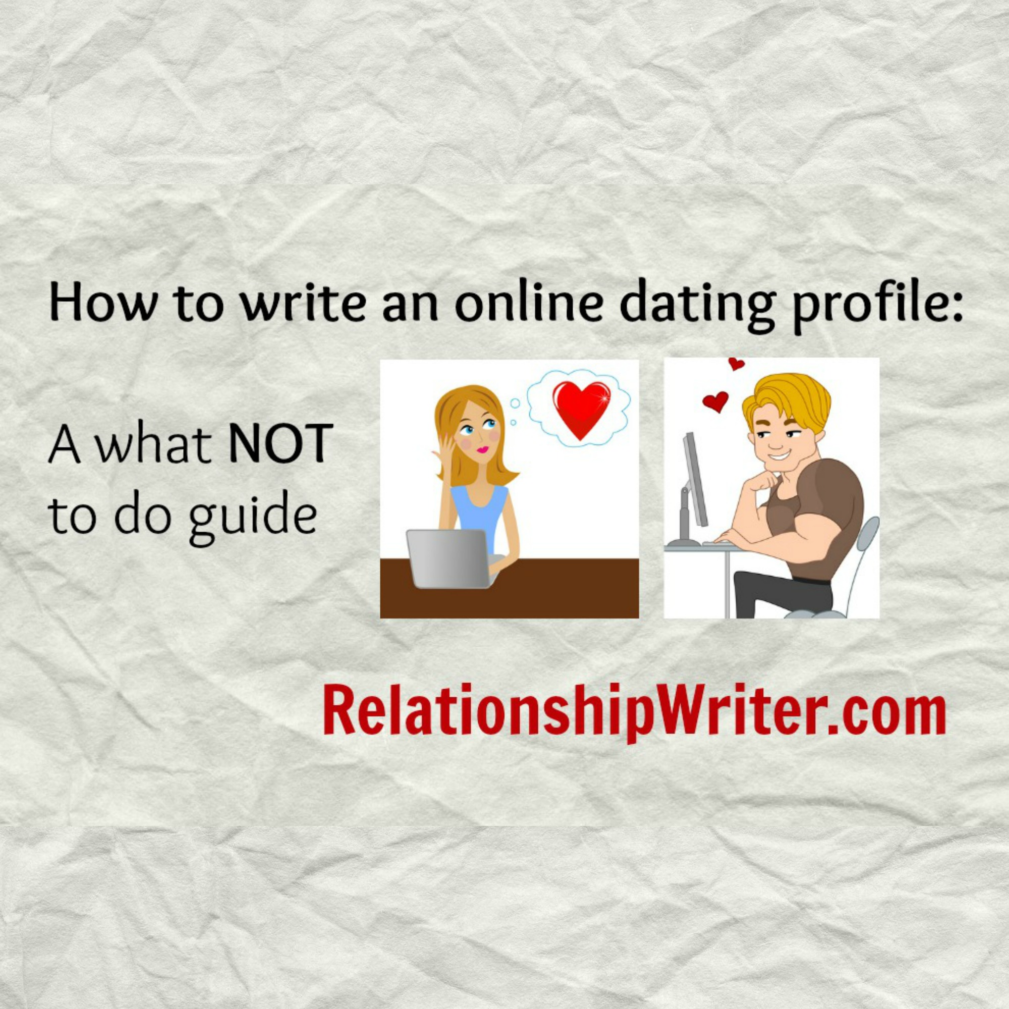 How to write about me online dating